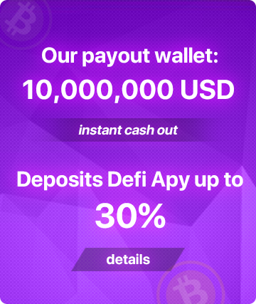 Pay out? No Problem! Total holdings in our wallet 10,000,000 USDT, instant cash out, every Monday, we make a $1 withdrawal from our Etherscan.io wallet for proof, click here to look us up on Etherscan