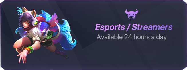 DJ Esports, Esports streamer, available 24 hours a day