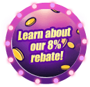 Learn about our 8% rebate
